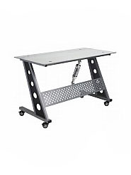 PitStop™ Compact Desk - Clear