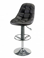 PitStop™ Pit Crew Bar Chair - Black
