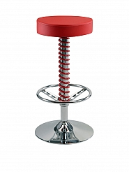 PitStop™ Pit Crew Bar Stool - Red